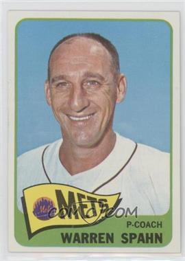 1965 Topps - [Base] #205 - Warren Spahn