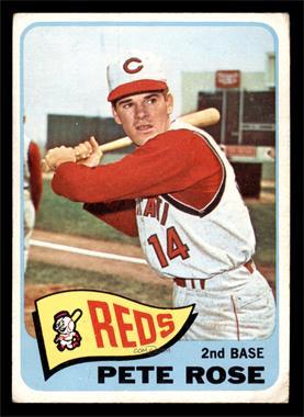 1965 Topps - [Base] #207 - Pete Rose [VG]
