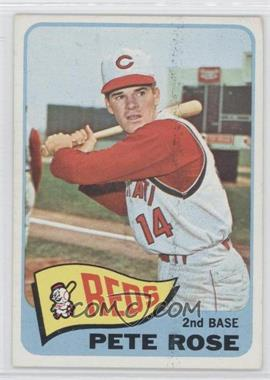 1965 Topps - [Base] #207 - Pete Rose [Good to VG‑EX]