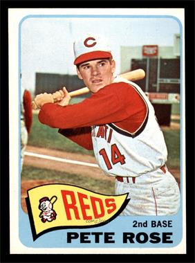 1965 Topps - [Base] #207 - Pete Rose [EX]