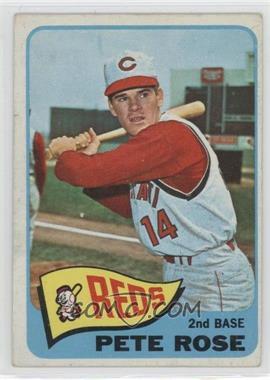 1965 Topps - [Base] #207 - Pete Rose [GoodtoVG‑EX]