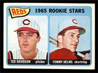 1965 Rookie Stars - Ted Davidson, Tommy Helms [VG EX]