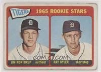 1965 Rookie Stars - Jim Northrup, Ray Oyler [Poor to Fair]