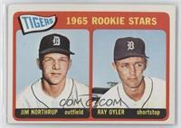 1965 Rookie Stars - Jim Northrup, Ray Oyler