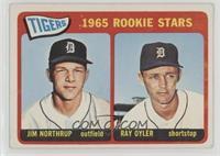 1965 Rookie Stars - Jim Northrup, Ray Oyler [PoortoFair]