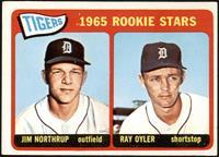 1965 Rookie Stars - Jim Northrup, Ray Oyler [VGEX]