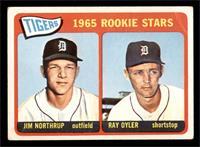 1965 Rookie Stars - Jim Northrup, Ray Oyler [GOOD]