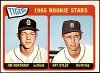 1965 Rookie Stars - Jim Northrup, Ray Oyler [VG]