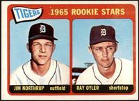 1965 Rookie Stars - Jim Northrup, Ray Oyler [EX]