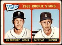 1965 Rookie Stars - Jim Northrup, Ray Oyler [FAIR]