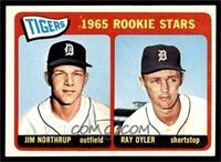 1965 Rookie Stars - Jim Northrup, Ray Oyler [EXMT]