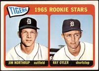 1965 Rookie Stars - Jim Northrup, Ray Oyler [VGEX+]