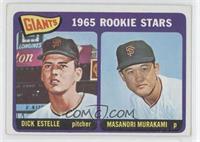 1965 Rookie Stars - Dick Estelle, Masanori Murakami [Noted]