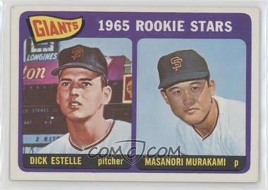 1965 Topps - [Base] #282 - 1965 Rookie Stars - Dick Estelle, Masanori Murakami