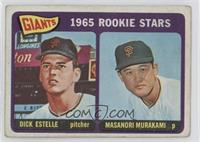 1965 Rookie Stars - Dick Estelle, Masanori Murakami [Poor]