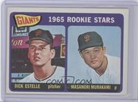 1965 Rookie Stars - Dick Estelle, Masanori Murakami