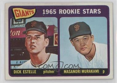 1965 Topps - [Base] #282 - Dick Estelle, Masanori Murakami