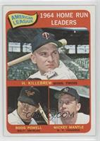 American League Home Run Leaders (Harmon Killebrew, Boog Powell, Mickey Mantle)…