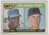 1965 Rookie Stars - Cleon Jones, Tom Parsons [NonePoortoFair]