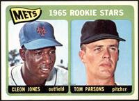 1965 Rookie Stars - Cleon Jones, Tom Parsons [NM+]