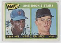 1965 Rookie Stars - Cleon Jones, Tom Parsons [NoneGoodtoVG…