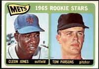1965 Rookie Stars - Cleon Jones, Tom Parsons [NMMT]