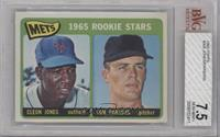 1965 Rookie Stars - Cleon Jones, Tom Parsons [BVG 7.5 NEAR MINT+]