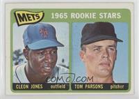 1965 Rookie Stars - Cleon Jones, Tom Parsons [Good‑VeryGood]