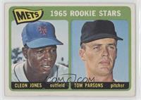 1965 Rookie Stars - Cleon Jones, Tom Parsons