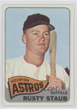 1965 Topps - [Base] #321 - Rusty Staub