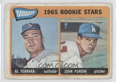 1965 Topps - [Base] #331 - Al Ferrara, John Purdin [Good to VG‑EX]