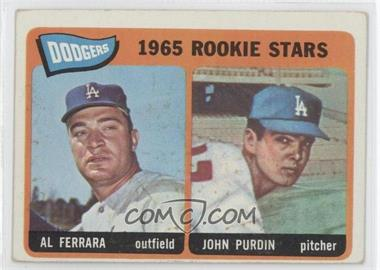 1965 Topps - [Base] #331 - Al Ferrara, John Purdin