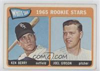 1965 Rookie Stars - Ken Berry, Joel Gibson [Noted]