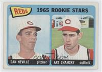 1965 Rookie Stars Reds (Dan Neville, Art Shamsky) [GoodtoVG‑E…