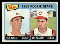 1965 Rookie Stars Reds (Dan Neville, Art Shamsky) [VGEX]