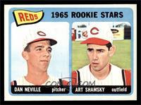 1965 Rookie Stars Reds (Dan Neville, Art Shamsky) [NMMT]