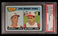 1965 Rookie Stars Reds (Dan Neville, Art Shamsky) [PSA7]