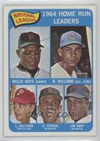 Willie Mays, Billy Williams, John Callison, Orlando Cepeda, Jim Hart