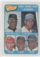 Willie Mays, Billy Williams, John Callison, Orlando Cepeda, Jim Hart [Altered]