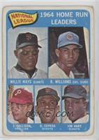 Willie Mays, Billy Williams, John Callison, Orlando Cepeda, Jim Hart [Poor]