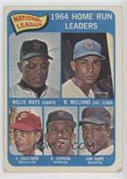 Willie Mays, Billy Williams, John Callison, Orlando Cepeda, Jim Hart [Poor …
