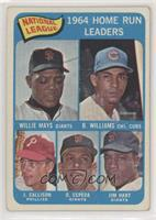 Willie Mays, Billy Williams, John Callison, Orlando Cepeda, Jim Hart [Poor…