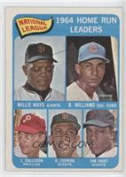 Willie Mays, Billy Williams, John Callison, Orlando Cepeda, Jim Hart