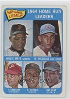 Willie Mays, Billy Williams, John Callison, Orlando Cepeda, Jim Hart [Good …