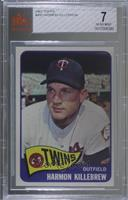 Harmon Killebrew [BVG 7 NEAR MINT]