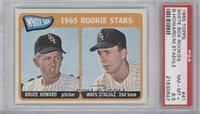 1965 Rookie Stars - Bruce Howard, Marv Staehle [PSA 8.5 NM‑MT+]