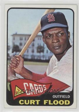 1965 Topps - [Base] #415 - Curt Flood