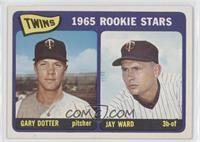 1965 Rookie Stars - Gary Dotter, Jay Ward