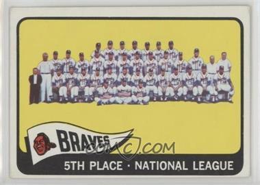 1965 Topps - [Base] #426 - Milwaukee Braves Team