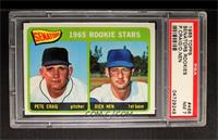 Senators 1965 Rookie Stars (Pete Craig, Dick Nen) [PSA 7]